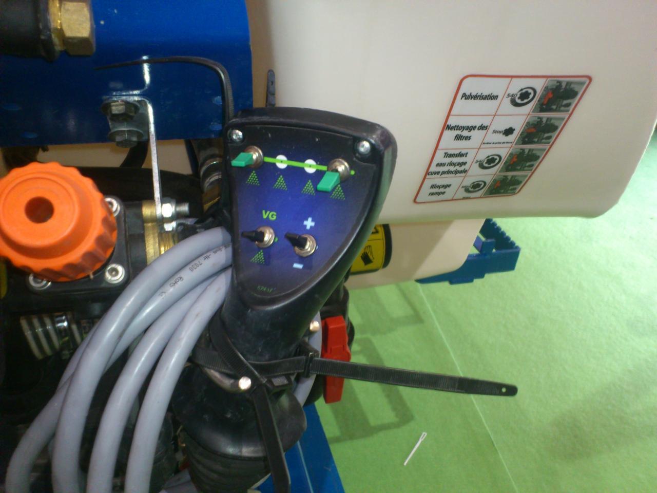 joystick de commande TTA 2000